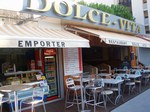 Fonds de commerce de Pizzeria Rochelongue Cap d'Agde terrasse